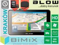 NAWIGACJA GPS BLOW GPS50V EU HD 50V + 8GB + ETUI