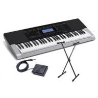 KEYBOARD CASIO CTK-4400+ ZASILACZ ,PULPIT, STATYW