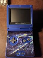 Game Boy Advance SP Blue AGS 001 + ładowarka UK