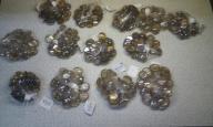 Kaboszon szklany szkiełko owalny 325 sztuk