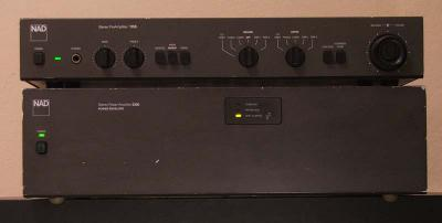 Power Amp NAD 2200PE + Preamp 1155