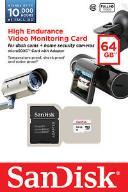 microSDHC 64 GB High Endurance Video Monitoring
