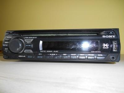Fantastyczny Radio SONY Xplod CDX-GT31U USB CD MP3 Aux 50Wx4 - 6909855735 MS18