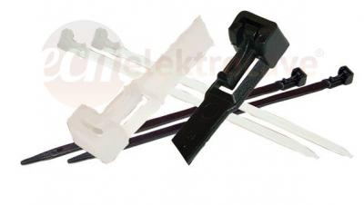 Opaska kablowa wielokrotnego użycia 300x7.6 Kolory