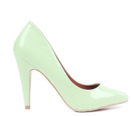 Zielone mietowe czolenka RADOM pastelowe 37 #39738
