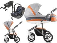 BEBETTO MURANO 4w1 + KIDDY EVOLUTION PRO 2 + BAZA