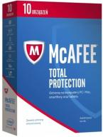 McAfee 2017 Total Protection PL 10 PC 1 ROK FVAT