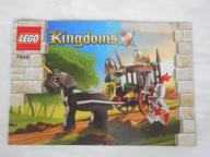 Instrukcja LEGO Kingdoms Prison Carriage 7949