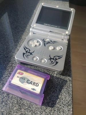 Game Boy Advance SP Tribal GBA + SuperCard 512MB