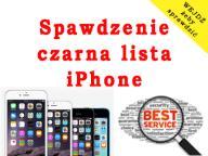 Sprawdzenie SIECI BLOKADY SIMLOCK iPhone iCloud