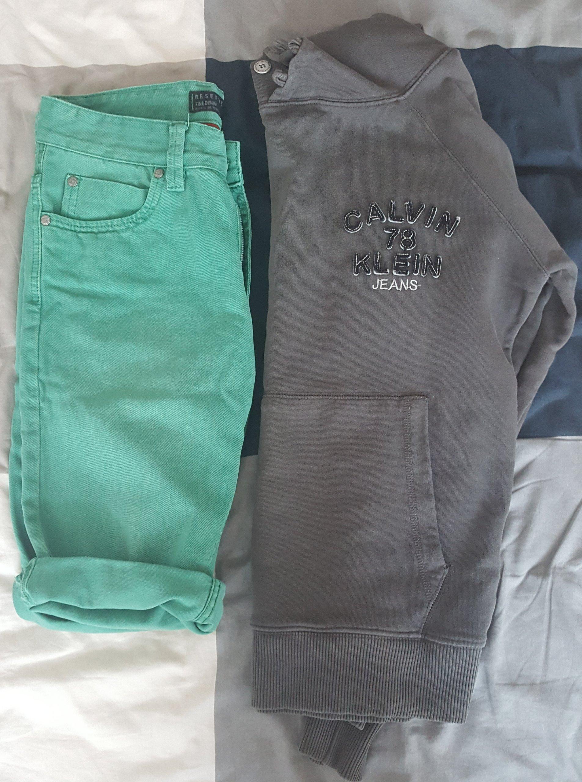 Paczka ubrań CK i inne, rozmiar S BCM
