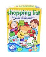 4384-6 ...ORCHARD TOYS... a#g GRA SHOPPING LIST
