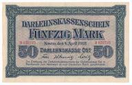 Polska OST 50 marek 1918 Kowno st. 2