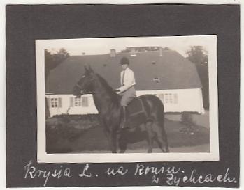 Żychce k Przechlewo Chojnice - Dwór - FOTOok1935