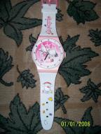 Hello Kitty zegar dzieciecy scienny