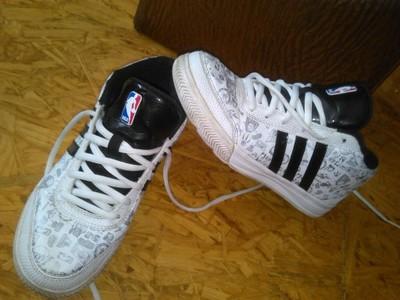 new arrival b092e ac738 buty za kostke adidas 36 23cm nba sportowe high