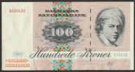 Dania - 100 koron - 1972 - stan 2