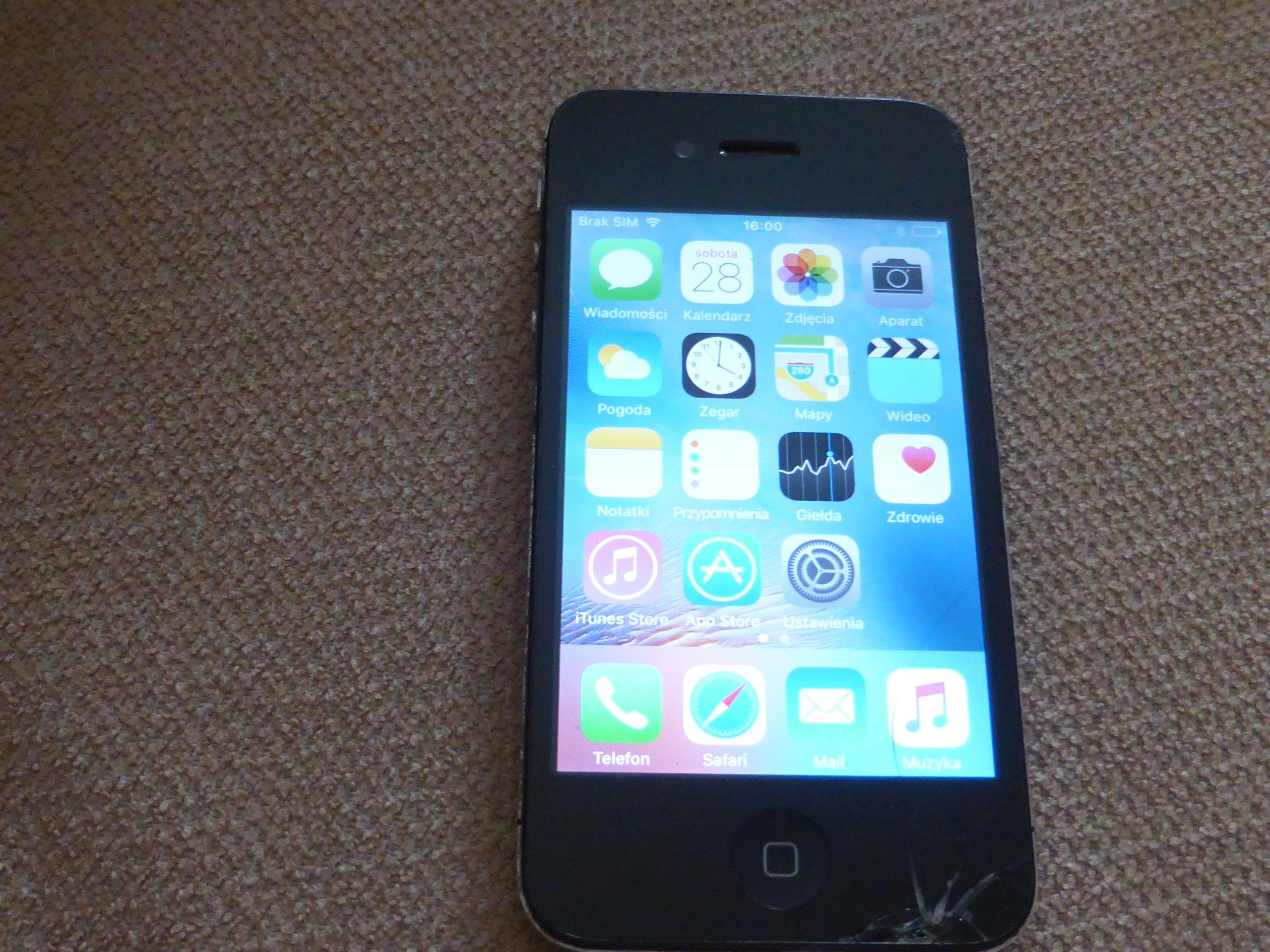 Iphone 4s 16gb A1387 7065358519 Oficjalne Archiwum Allegro