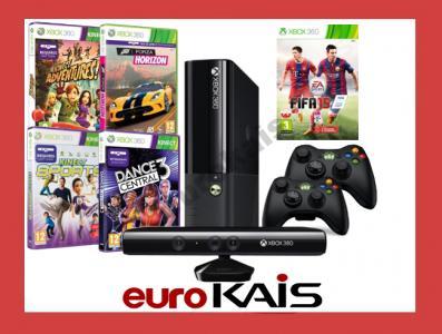 Konsola Xbox 360 500gb Kinect 2 Pady Fifa 15 Forza 4881601586 Oficjalne Archiwum Allegro