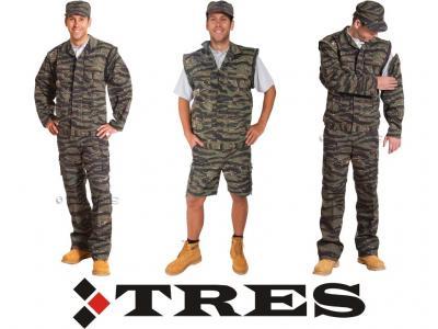 Ubranie moro ODPINANE nogawki i rękawy, czapka XL
