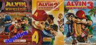 ALVIN I WIEWIÓRKI 1 + 2 + 3 - 3 DVD