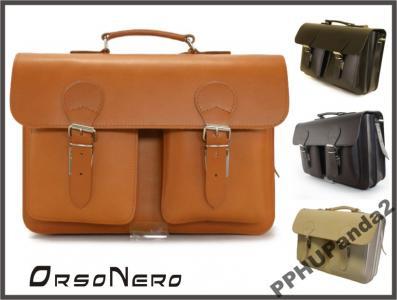 49bea48b4eb12 Teczka plecak SKÓRA NATURALNA vintage nude 0071 - 3903388996 ...