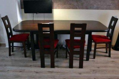 Stol Z 4 Krzeslami Bodzio Rozkladany 6339882534 Oficjalne