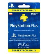 Subskrypcja PS PlayStation Plus 360 dni AUTOMAT