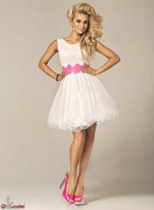 a630b95ad6 Sukienka wizytowa 005 1319-4 rozmiar 38 - 6114449390 - oficjalne ...