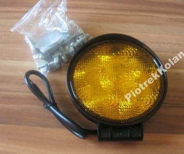 Robocza lampa , ostrzegawcza 6 led  18W 12 24v  LL