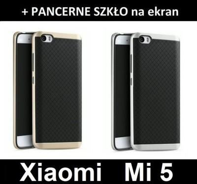 Xiaomi Mi 5 etui MI5 OXY CR + PANCERNE Szkło