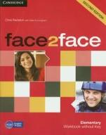 Face2face. 2ed. Elementary Workbook