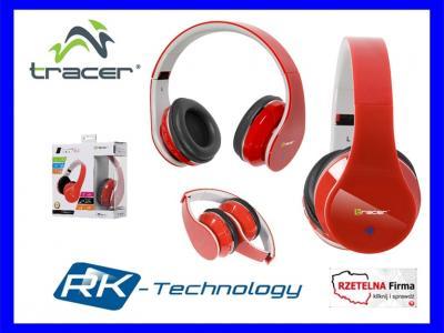 Słuchawki Bluetooth TRACER MOBILE RED FV GW