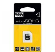 Karta pamięci microSD 4GB Goodram bez adaptera