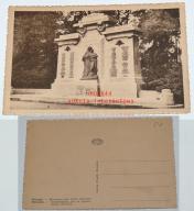 Stara pocztówka, Vilvorde - Pomnik poległych...