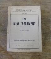 Tischendorf THE NEW TESTAMENT 1869