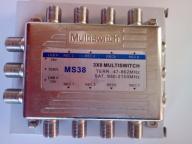 MULTISWITCH 3/8 3X8 LINBOX DVB-T SAT