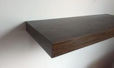 Półki Drewniane Z Ukrytym Mocowaniem 60x20x4 5794925512