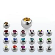 Kulka wymienna ze stali z kryształkiem - 1,2 mm