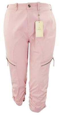 eJ1600 ZIZZI NOWE różowe spodnie 54