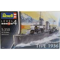 Model do sklejania REVELL German Destroyer Type 19