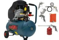 KOMPRESOR OLEJOWY 24L EUROTEC GERMANY