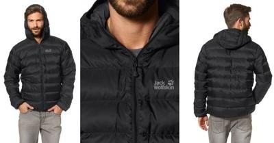kurtka męska zimowa Jack wolfskin czarna M L XL XXL