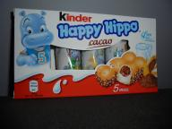 -- HAPPY HIPPO -- BATONIKI KINDER -- Z NIEMIEC --