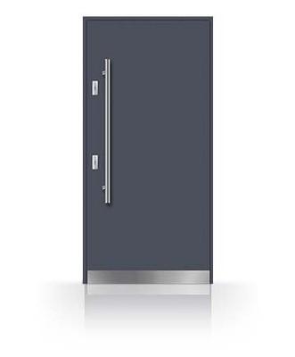Młodzieńczy NOWOCZESNE drzwi z pochwytem - antabą KAZDY KOLOR - 6640325998 XN32