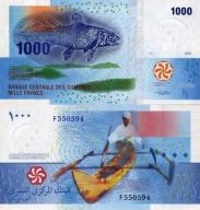 # KOMORY - 1000 FRANKÓW - 2005 -P16 - UNC