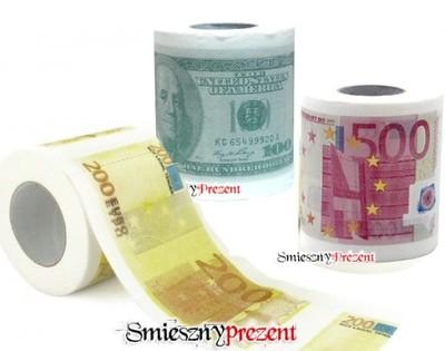 Papier Toaletowy 200 500 Euro Usd Sudoku Prezent 5152323342 Oficjalne Archiwum Allegro