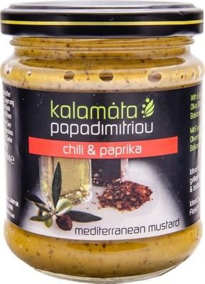 Musztarda z chilli i papryką, Kalamata, GRECJA