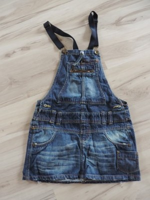 3f78f53b sukienka ogrodniczka jeansowa bershka denim M