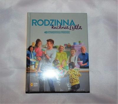 Książka Rodzinna Kuchnia Lidla Nowa Folia Bez Mini